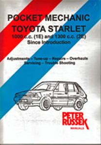 Toyota Starlet FWD 1984-88 Pocket Mechanic Repair Manual