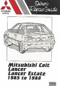 Mitsubishi Colt & Lancer 1985-88 1.3 1.5 (inc NZ Mirage)