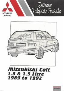 Mitsubishi Colt 1.3 1.5 1989 on (NZ Mirage)