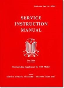 Triumph TR2 & TR3 Factory Service Instruction Manual