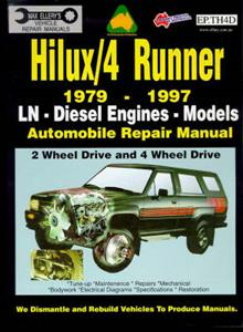 Toyota HiLux & 4Runner Diesel 1979-97 Repair Manual