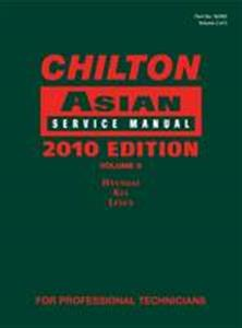 Chilton Asian Service Manual 2010 Vol 2 Hyundai Kia Lexus