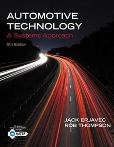 Automotive Technology: A Systems Approach 6th Ed