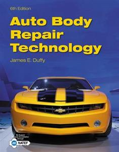 Auto Body Repair Technology 6th Ed