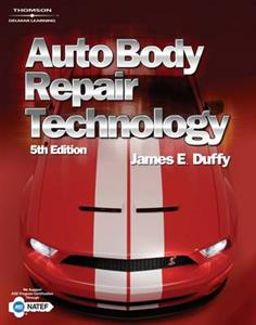 Auto Body Repair Technology 5th Edition