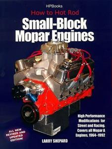 How To Hot Rod Small Block Mopar Engines Revised Ed