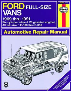Ford Full-Size Vans 1969-91 Repair Manual
