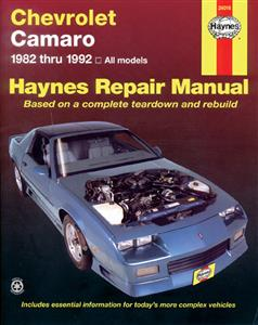 Chevrolet Camaro 1982-92 Repair Manual