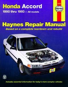Honda Accord 1990-93 2.2 Repair Manual