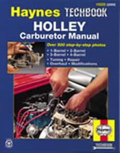 Holley Carburettor Manual