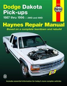 Dodge Dakota Pickup 1987-96 Repair Manual