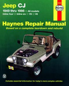 Jeep CJ 1949-1986 Repair Manual