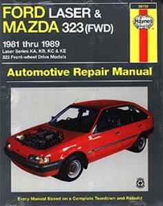 Ford Laser & Mazda 323 1981-89 Petrol Repair Manual