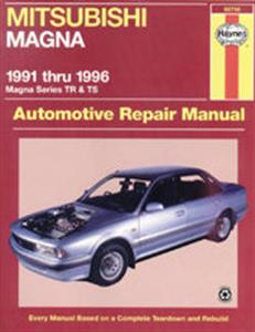 Mitsubishi Magna 1991-96 Repair Manual TR TS (inc NZ V3000)