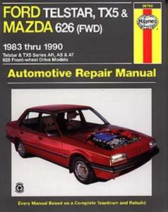 Ford Telstar & Mazda 626 1983-90 Petrol Repair Manual