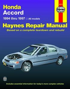 Honda Accord 1994-97 Repair Manual 2.2 And 3.0