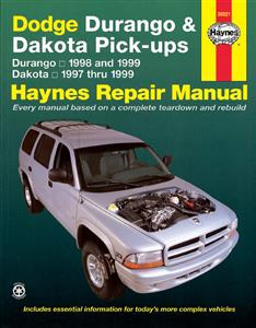 Dodge Durango 1998-99 & Dakota 1997-99 Repair Manual