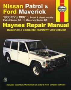 Nissan Patrol 1988-97 Repair Manual (similar to import Safari)