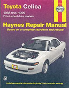 Toyota Celica 1986-99 FWD Repair Manual
