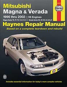 Mitsubishi Magna And Verada V6 1996-00 (NZ new Diamante)