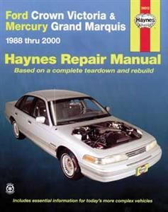Ford Crown Victoria & Mercury Grand Marquis 1988-2006 Repair Manual