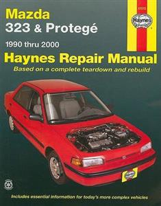 Mazda 323 & Protege 1990-00 Petrol Repair Manual 1.6 1.8 SOHC and 1.5 1.6 1.8 DOHC 1997on