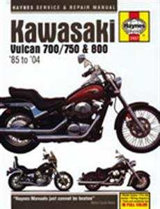 Kawasaki Vulcan 700 750 & 800 1985-2004 Repair Manual