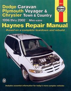 Dodge Caravan Plymouth Voyager & Chrysler Town & Country 1996-02 (NZ Chrysler Caravan)