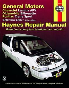 GM Lumina APV Silhouette & Trans Sport 1990-96 Repair Manual