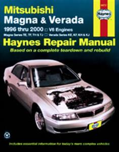 Mitsubishi Magna and Verada (NZ Diamante) 1996-2002 Repair Manual