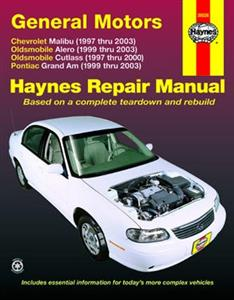 GM Malibu Alero Cutlass & Grand Am 1997-2003 Repair Manual