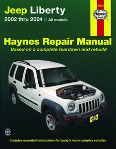 Jeep Liberty (NZ Cherokee) 2001-04 Repair Manual