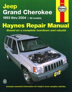 Jeep Grand Cherokee 1993-04 Petrol Repair Manual
