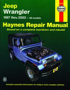 Jeep Wrangler 1987-03 Repair Manual