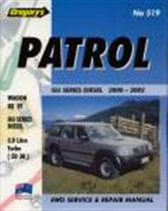 Nissan Patrol GU Diesel 2.8 3.0 4.2 1998-2004 Repair Manual