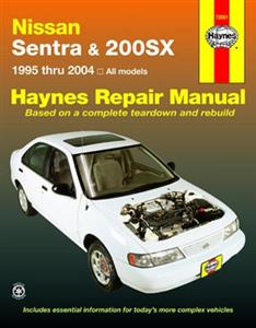 Nissan Sentra & 200SX 1995-2004 Repair Manual NOT NZ MODELS