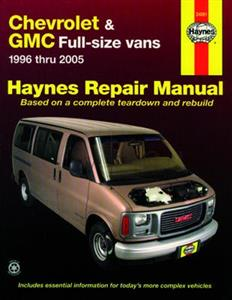 Chevrolet & GMC Full Size Vans 1996-2005 Petrol Repair Manual
