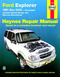 Ford Explorer 1991-2001 Repair Manual
