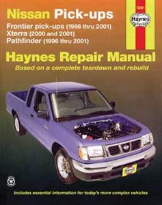 Nissan Frontier (NZ Navara) 1998-04 & Pathfinder 1996-04 Petrol Repair Manual