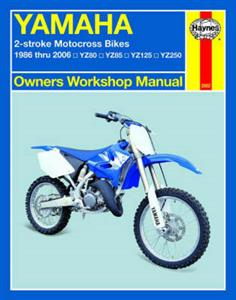 Yamaha 2 Stroke Motorcross Bikes 1986-2006 Repair Manual YZ80 85 125 250