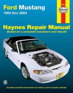 Ford Mustang 1994-2004 Repair Manual