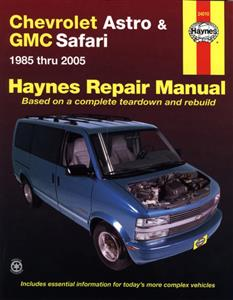 Chevrolet Astro & GMC Safari 1985-2005 Repair Manual