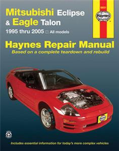 Mitsubishi Eclipse & Eagle Talon 1995-2005 Repair Manual