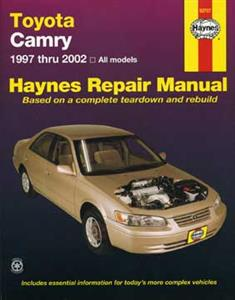 Toyota Camry 1997-02 Petrol Repair Manual Inc Avalon and Lexus ES300