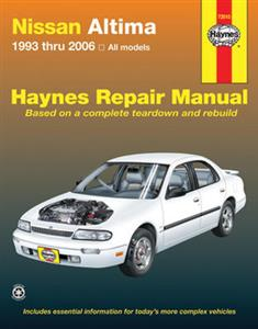 Nissan Altima 1993-2006 Repair Manual