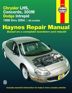 Chrysler LHS Concorde 300M & Dodge Intrepid 1998-2004 Repair Manual