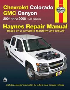 Chevrolet Colorado & GMC Canyon 2004-08 Repair Manual
