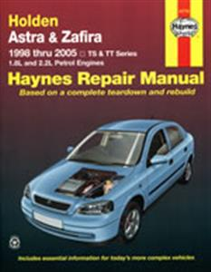 Holden Astra & Zafira 1998-2005 Petrol Repair Manual