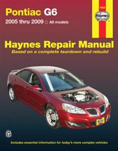 Pontiac G6 2005-2009 Repair Manual