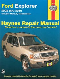 Ford Explorer 2002-10 Repair Manual